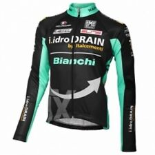 Santini TX BIANCHI Team Maglia Long Sleeve Cycling Jersey - Various Sizes