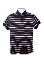 Tommy Hilfiger Men's Pure Cotton Short Sleeve Classic Fit Striped Polo Tee Shirt