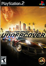 NEW! Need for Speed: Undercover (PS2, Sony PlayStation 2, 2008) NEW & SEALED!!!
