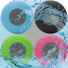 Portable Waterproof Speakers & Suction Cup For Archos 90 Neon Tablet