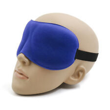 Soft Padded Sleep Mask 3D Sponge Eye Cover Travel Sleeping Relax Blindfold Shade