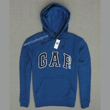 GAP NEW  MENS ARCH LOGO SWEATSHIRT HOODIE,NWT,BLUE,WARM AND COZY,PULL OVER,