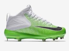 Mens Nike Zoom Trout 3 ASG Metal Baseball Cleats sz 11.5 Green White 844627-103