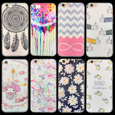 Cute Flower Design Pattern Hard Phone Case Cover Back Skin For Iphone 5 5S 6 6S