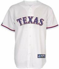 Texas Rangers MLB Mens Home White Majestic Replica Jersey Big & Tall Sizes