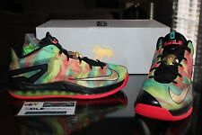 Deadstock Nike Lebron XI 11 Low SE Multicolor Champ Pack Size 11 & 11.5