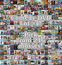 Comedy DVD Lot #1: 246 Movies to Pick From! Buy Multiple And Save!