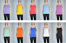 Summer tank tops with adjustable spaghetti strap for wome sizes S, M, L, XL, XXL