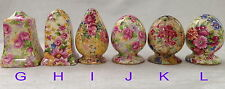 ♡ROYAL WINTON CHINTZ SALT PEPPER SHAKERS choice listing WELBECK ENGLISH ROSE etc
