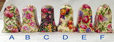 ♡ROYAL WINTON CHINTZ SALT PEPPER SHAKERS choice listing HAZEL EVESHAM SUMMERTIM