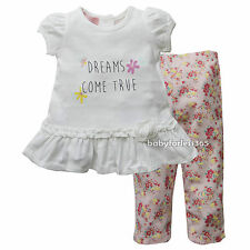 New Kid Headquarters Baby Girls Dream Come True Top Legging Size 0 3 6 9 months
