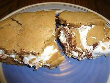 """INCREDIBLE HOMEMADE OOEY and GOOEY PEANUT BUTTER S'MORES BARS (8"""" x 8"""" TRAY)"""