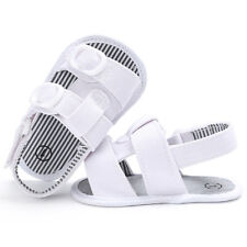 0-18 Months Boys Girls Cool Sandals Baby Summer Sandal Shoes White First Walkers