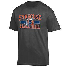 Syracuse Orange Basketball NCAA Grey T Shirt By Champion
