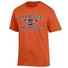 Syracuse Orange Lacrosse T shirt NCAA Orange