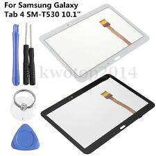 """For Samsung Galaxy Tab 4 SM-T530 10.1"""" Touch Screen Digitizer Glass Lens + Tools"""
