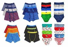 Boys Children Boxers Trunks Underwear Shorts Pants 3 6 Pack 2-13 Years