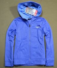 NWT GIRLS THE NORTH FACE STELLAR BLUE SURGENT FULL ZIP HOODIE JACKET SZ 2XS XS