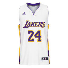 Los Angeles Lakers Adidas NBA Kobe Bryant #24 Alternate Swingman Jersey (White)