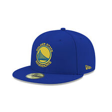 New Era Golden State Warriors Team Color Primary Logo 59Fifty Fitted Hat (Royal)