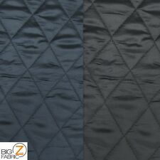 SOLID QUILTED POLYESTER SATIN BATTING FABRIC BY THE YARD UPHOLSTERY APPAREL