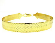 """4.00 MM 10k SOLID Gold Herringbone Necklace Chain - 18""""-24"""""""
