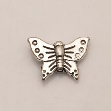 Butterfly Tibet Silver Jewelry Findings Spacer Beads Fit Bracelet
