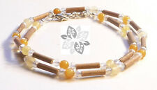 Hazelwood Therapeutic Citrine & Crystal Necklace *