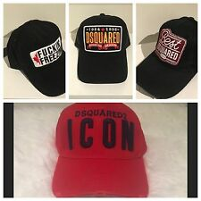 DSQUARED 2 DSQ Baseball Cap Brand New With Tags *MAY SALE 30% OFF*