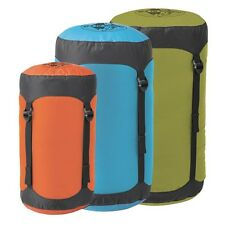 SEA TO SUMMIT COMPRESSION SACK 70D STUFF SACK 5 SIZES X-SMALL TO X-LARGE GREEN