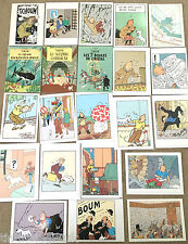 RARE TINTIN GREETING CARDS - BUY INDIVIDUALLY Herge Moulinsart Editions EO