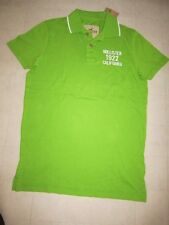 Hollister By Abercrombie Mens Green Polo T- Shirt Sz S - NWT $34.50