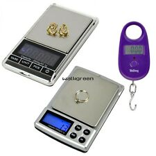 LCD 2000g/0.1g Digital Weigh Jewelry  Scale 25kg/5g  Electronic Digital Scale WN