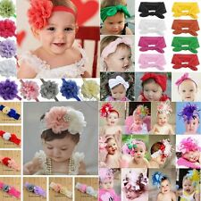 Cute Baby Toddler Kids Bunny Rabbit Bow Knot Turban Headband Hair Band Headwrap