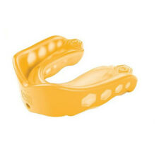 Shock Doctor v2 Gel Max Mouth Guard Mouthguard Gum Shield Yellow Protection