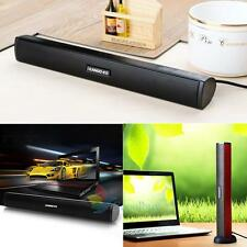 Portable Mini USB Audio Sound Bar Stereo Speaker For Notebook Laptop Computer PC