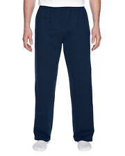 Fruit of the Loom Mens SF74R 7.2oz Sofspun Open-Bottom Pocket Sweatpants