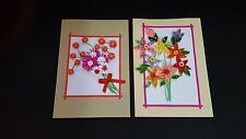 Handmade Paper Quilling Greeting Cards