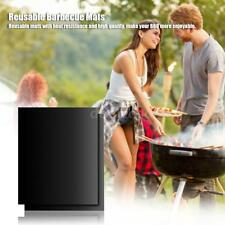 3/5x Grilling Sheets Nonstick BBQ Grill Reusable Barbecue Mats f/ Gas Grill M8A7