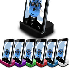 Quality Desktop Charger Dock Mount Stand Cradle Micro USB for HTC Desire 501