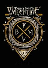 * BULLET FOR MY VALENTINE - EMBLEM LOGO - OFFICIAL TEXTILE POSTER FLAG