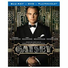 The Great Gatsby (Blu-ray/DVD, 2013, 2-Disc Set) New W/Slipcover