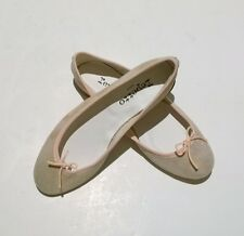 NIB Repetto Magic Sparkle Suede Pink Shoes NEW Flats Ballet Shoes Chaussures
