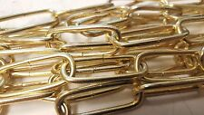 Rothley 3mm 3.0mm Brass Plated Steel Decorative Chain 2 Meters CD30BP