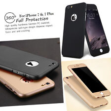360 Degree iPhone Coverage Tempered Glass Screen Protector Full Body Case