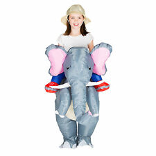 CHILDRENS INFLATABLE ELEPHANT KIDS FANCY DRESS COSTUME PARTY OUTFIT
