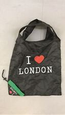 I LOVE LONDON WATERPROOF SHOPPING GROCERY GYM CARRIER BAG WITH HANDLES