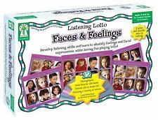 Faces and Feelings: Develop listening skills and learn to identify feelings a...
