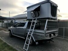 Hard Shell Roof Tent Camping Camper Trailer 4x4 Top Roof Rack Car 125/145cm 2p