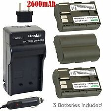 BP-511 Battery&Charger for Canon ZR85 ZR90, Optura 10 20 50MC 100MC 200MC Pi Xi